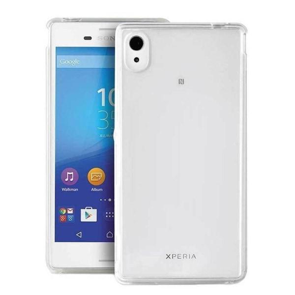 Sony Xperia M4 Aqua Transparent Cover (Flexible)