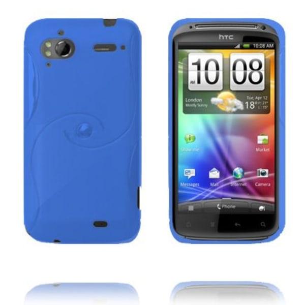 Storm (Blå) HTC Sensation Silikonskal