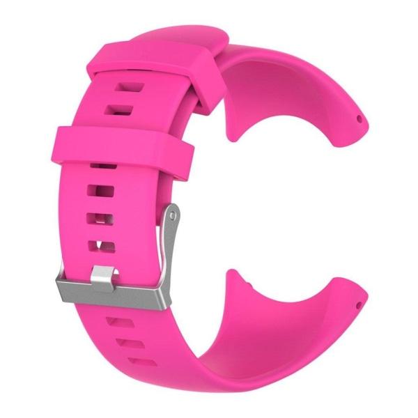 Suunto Core Alu Black Unikt klockband i silikon - Rosa