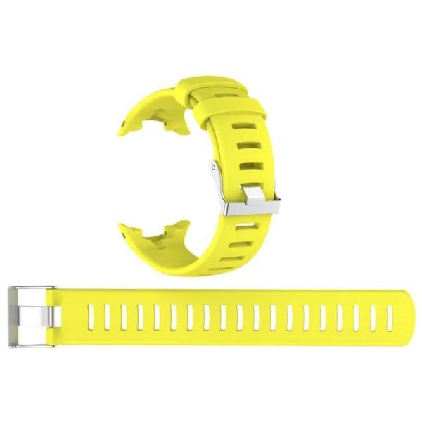 Suunto D4i Novo Enfärgat silikon klockband - Gul