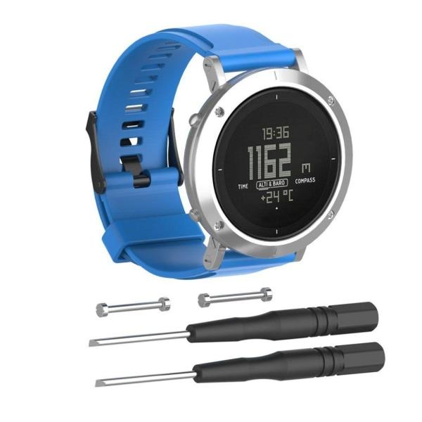 Suunto Essential Justerbart klockband - Blå