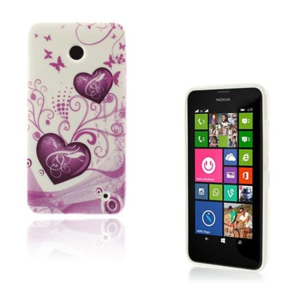 Westergaard (Hjärta & Fjäril) Nokia Lumia 630 / 635 Skal