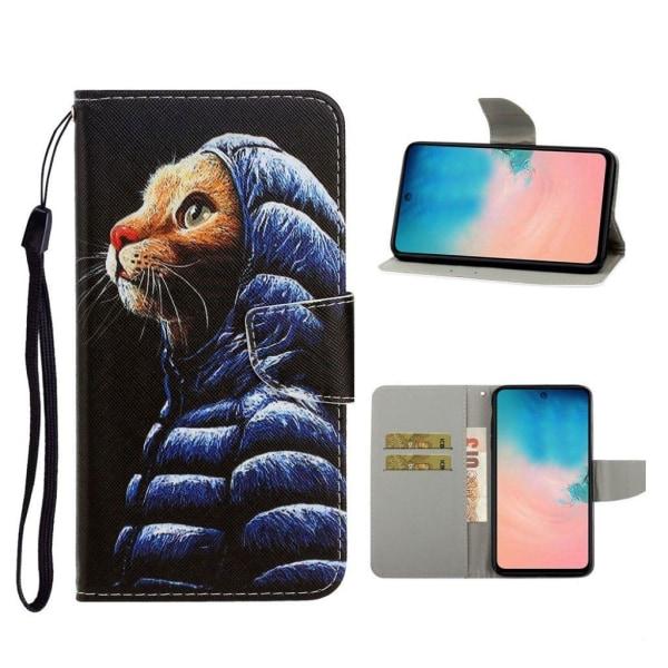Wonderland Samsung Galaxy S20 Ultra flip case - Cat Wearing