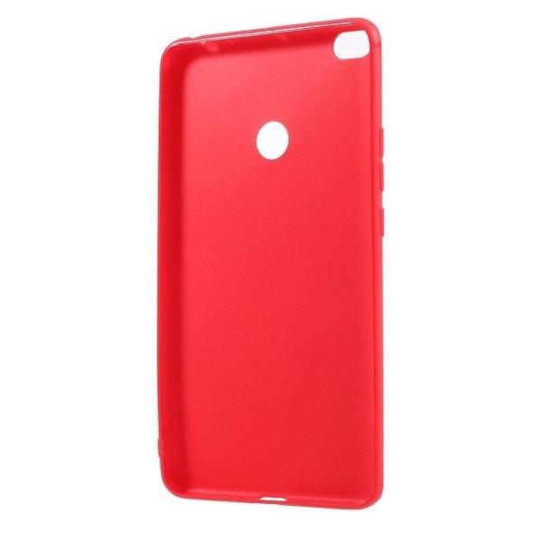 Xiaomi Mi Max 2 Enfärgat miljövänligt skal - Röd