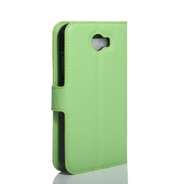 Xiaomi Mi Note 2 Skinn fodral med kortfickor - Grön