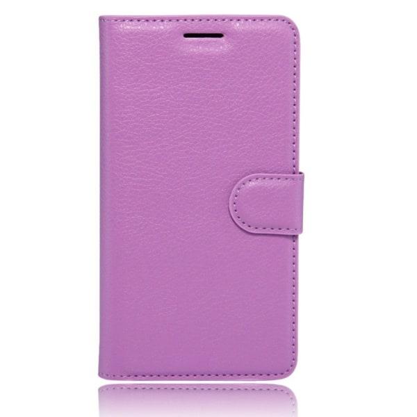 Xiaomi Mi Note 2 Skinn fodral med kortfickor - Lila