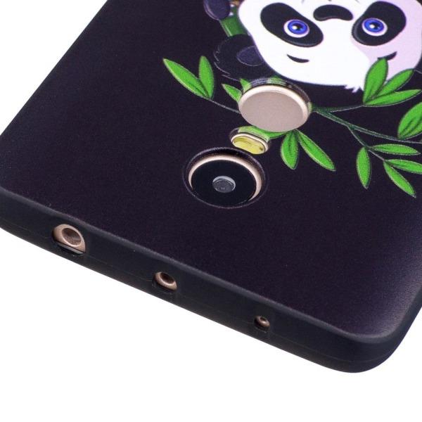 Xiaomi Redmi Note 4 Skal med modernt motiv - Panda i bamboo
