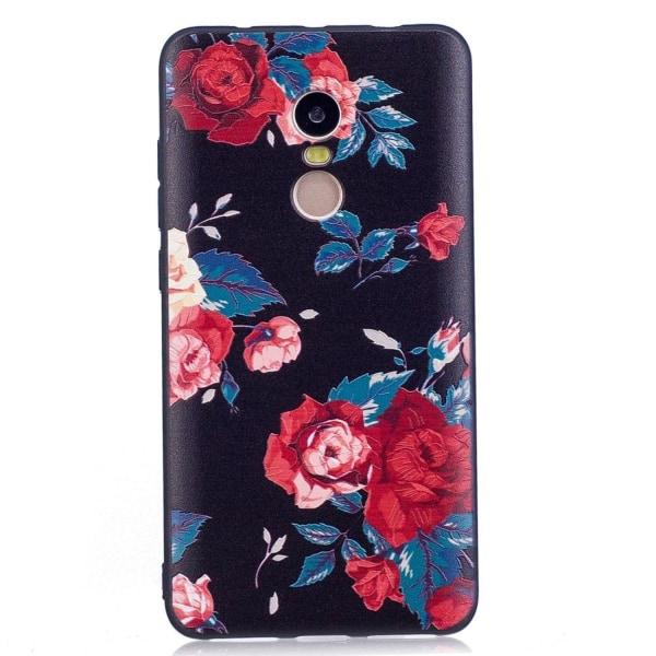 Xiaomi Redmi Note 4 Skal med modernt motiv - Rosor