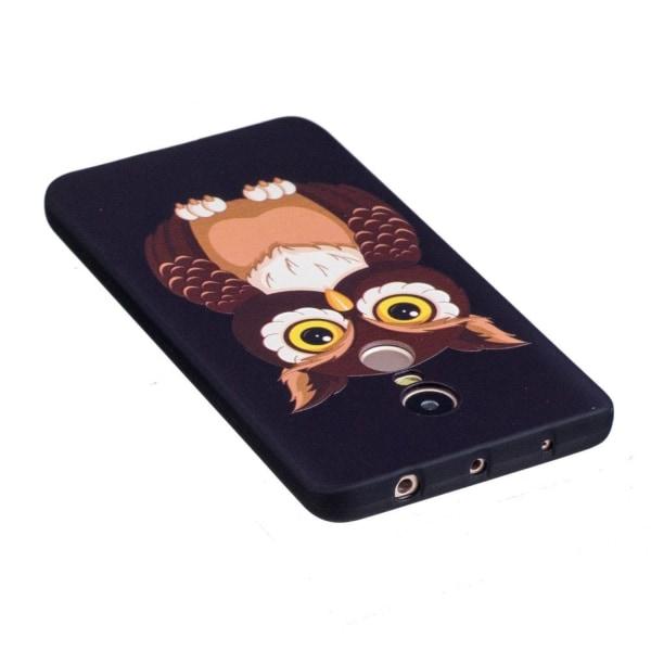 Xiaomi Redmi Note 4 Skal med modernt motiv - Uggla