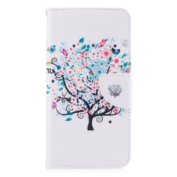 Xiaomi Redmi Note 4 Vikbart fodral med unikt motiv - Träd