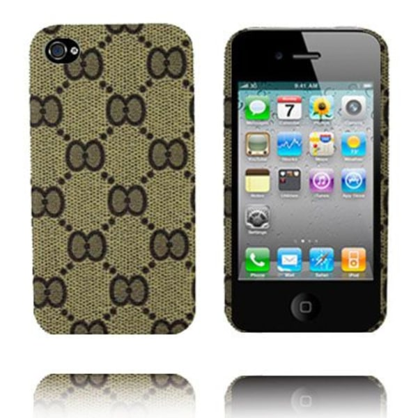 Ziggy Full (Sand) iPhone 4 Skal