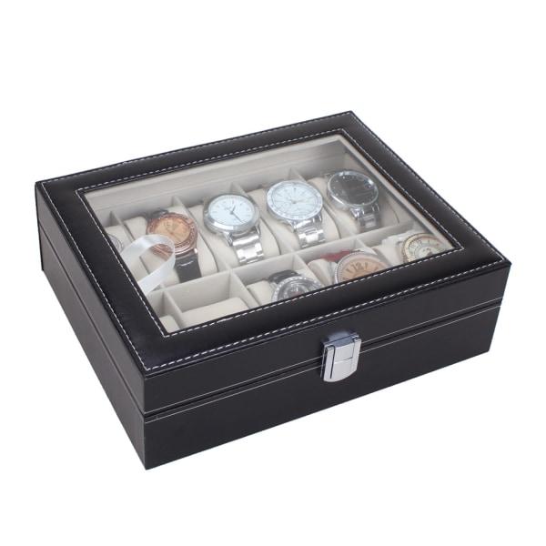 Klockbox / klocklåda för 10 klockor