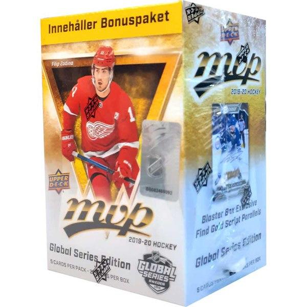 Hockeykort NHL MVP 2019-20 Global Series Blaster Box