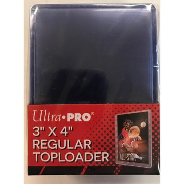 Toploader, regular, 25-pack (hård plastficka)