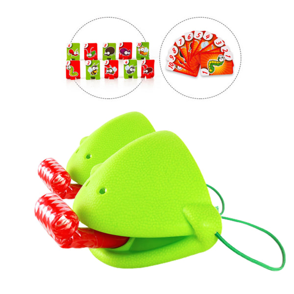 2 st Chameleon Toy Family Funny Card Board Game