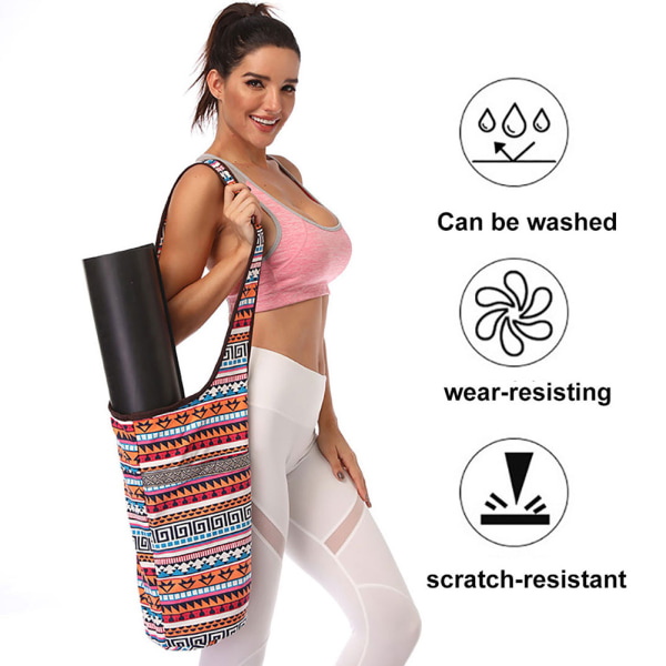 Mode Casual Canvas Fitness Supplies Carry Shoulder Bag