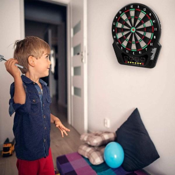 Dpelare med 6 dart och 27 olika spel, LCD