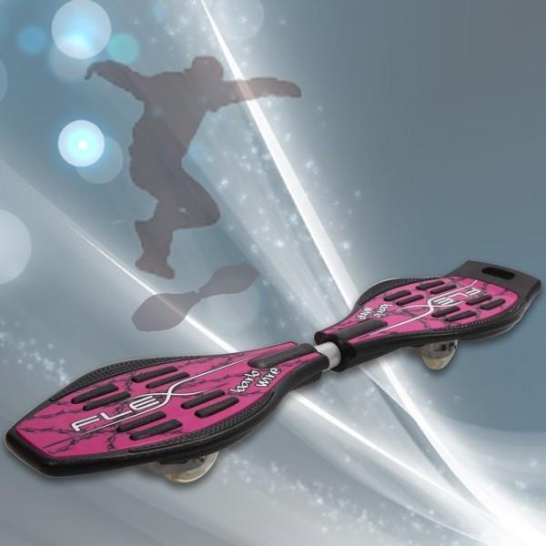 Skateboard med bärväska,halkfri ABS