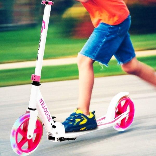 Scooter med aluminiumplattform