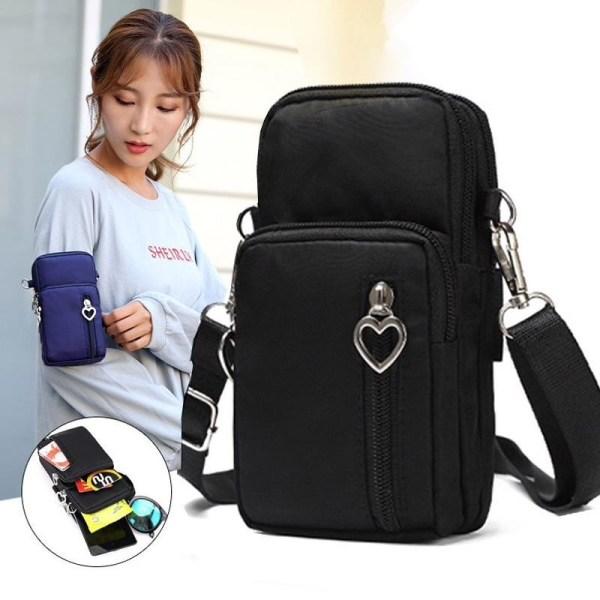 Miniväska-handväska svart Svart