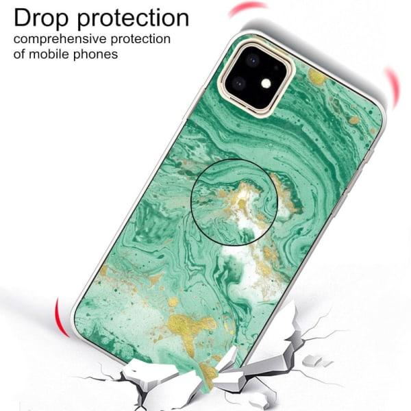 Mobilskal med fint mönster Iphone 11. Turkos
