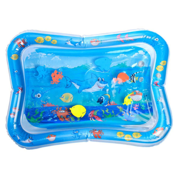 Tummy Time Baby Inflatable Water Play Creeping Mat shark