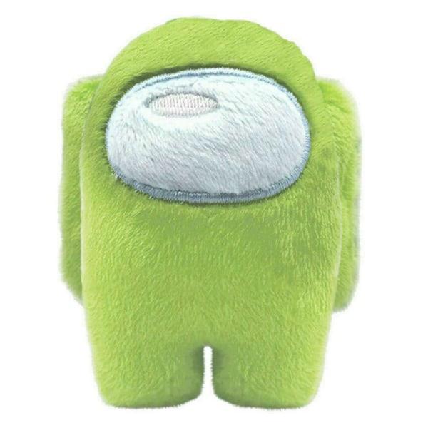 Among Us Game Plush Soft Stuffed Toy Dolls Game Kids Xmas Gift Green