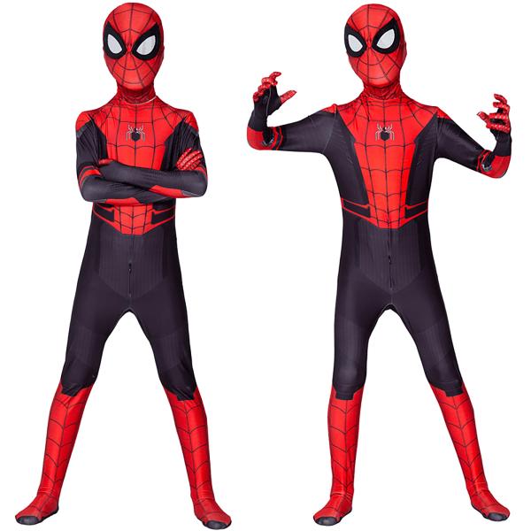 Autumn Spiderman Fashion Jumpsuit One Costume Kids 100 cm
