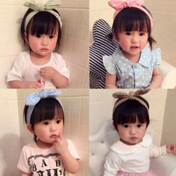 Baby Girls Rabbit Ear Headband, Baby Girls Rabbit Ear Headband As Pics 5