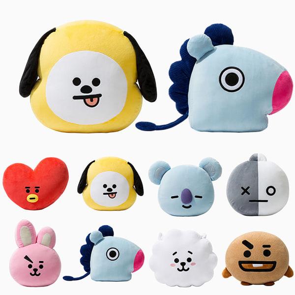 BTS BT21 TATA SHOOKY RJ Plush Toy  COOKY Pillow Doll Sofa Gift Love 30*40cm