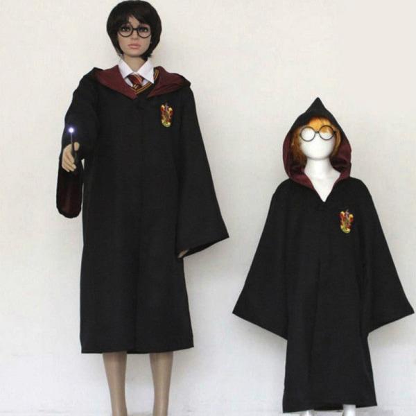 Barn vuxna maskerad Cosplay kostym Harry Potter-serien kappa