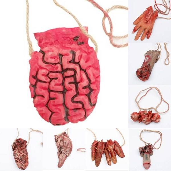 Halloween Prop Fake Body Parts Haunted House Props As pics1