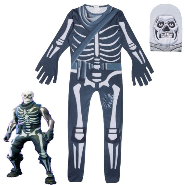 Fortnite Halloween Ghost Skeleton Shooting Game As Pics 3XL