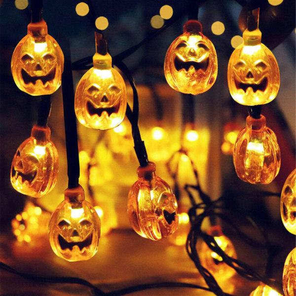 Halloween 80 LED 10 M Pumpa String Fairy Lights Lamp Party