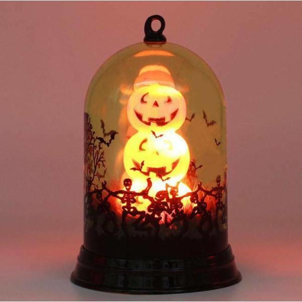 Halloween hemhängande dekor LED-lampa häxa slott ljus Candle