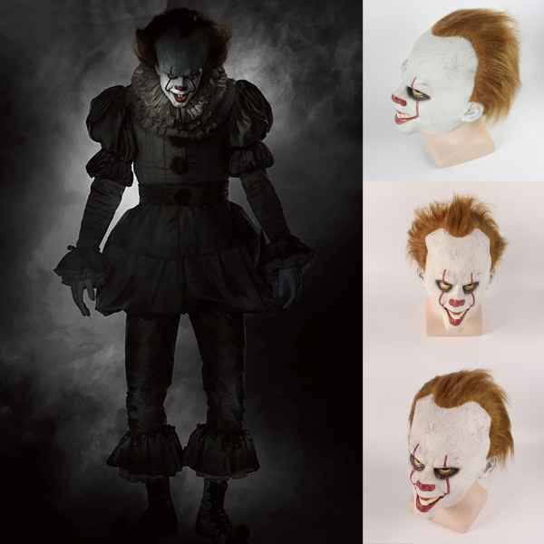 Halloween Party Scary Clown Soul Mask