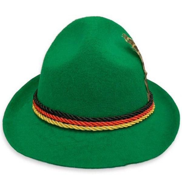 Oktoberfest hatt för män tyska tränare bayerska kepsar Gray
