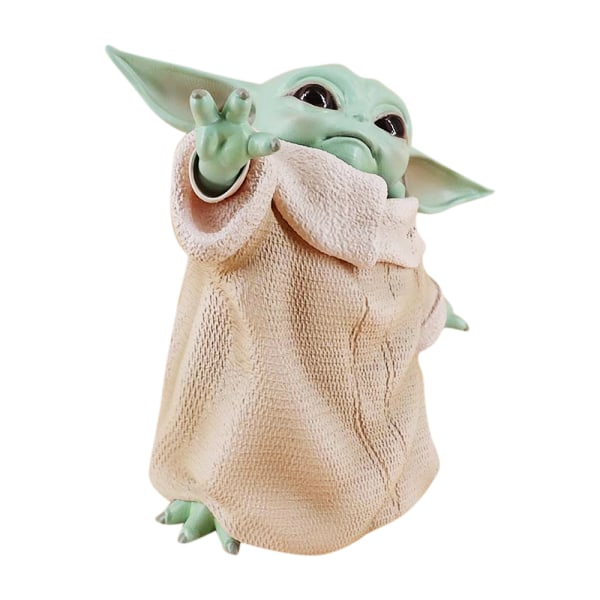 Model Baby Yoda Figure Children Figure Kids Action Figure Gift