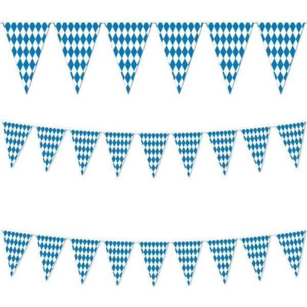 Oktoberfest Fancy Dress Party Pennant Flag Decoration Casual 10m