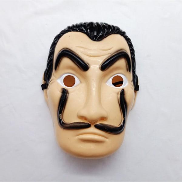 Salvador Dali La Casa De Papel Cosplay Money Heist Mask short mask One Size