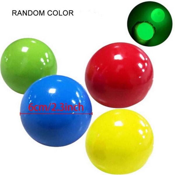 4pcs Fidget Ball Squeeze Magic Puzzle Toy Kids Family Fun Gift 4.5cm  Random Color 4PCS