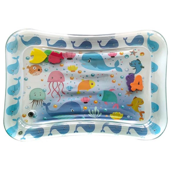 Tummy Time Baby Inflatable Water Play Creeping Mat dolphin