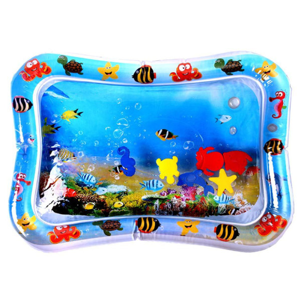 Tummy Time Baby Inflatable Water Play Creeping Mat ocean