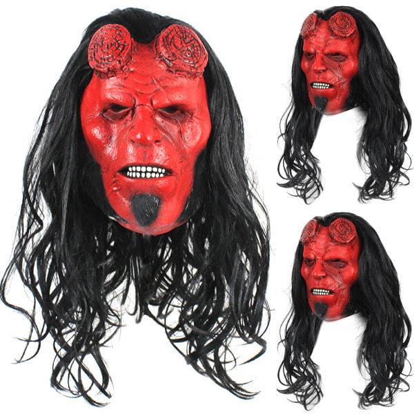 Voldemort Baron huvudbonader Halloween Bellboy Mask