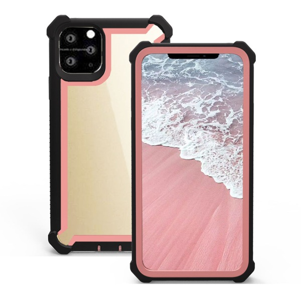 iPhone 11 Pro - Robust Skal Svart/Rosé