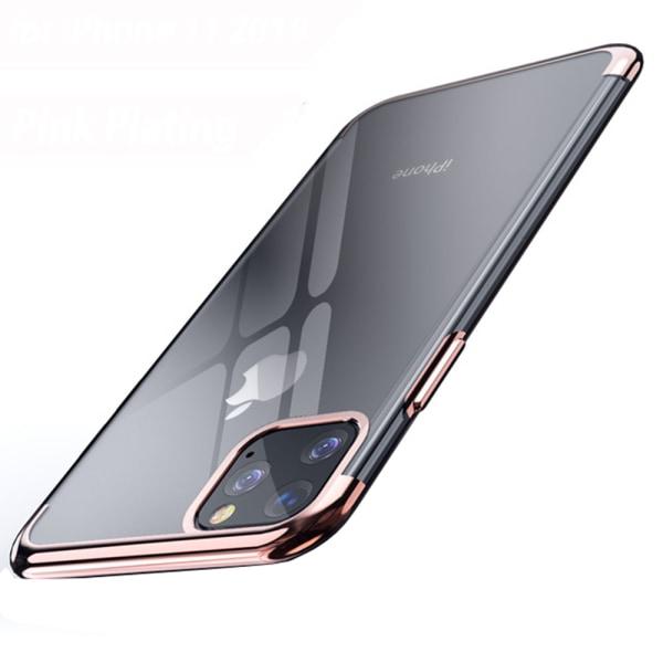 Elegant Smart Silikonskal - iPhone 11 Pro Max Röd