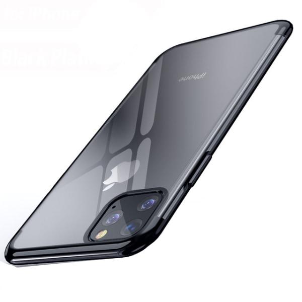 Elegant Smart Silikonskal - iPhone 11 Pro Max Roséguld