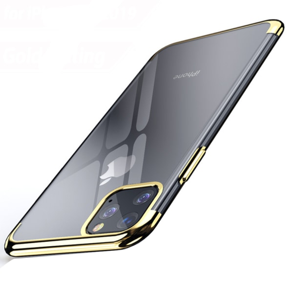 Elegant Smart Silikonskal - iPhone 11 Pro Max Guld
