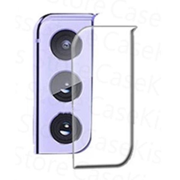 3-PACK S21+ Högkvalitativt HD-Clear Ultratunt Kameralinsskydd Transparent/Genomskinlig