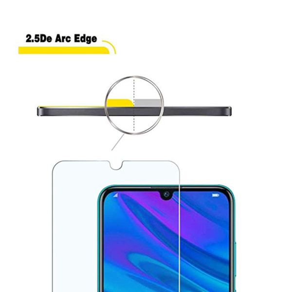 Skärmskydd 3-PACK Standard Screen-Fit HD-Clear Huawei Y6 2019 Transparent/Genomskinlig